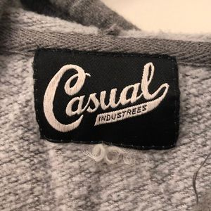 casual industrees Tops - Casual Industrees grey hoodie